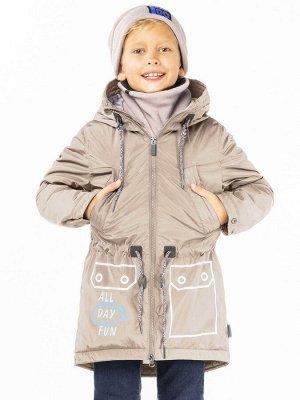 100020/1 (песочный) Пальто для мальчика