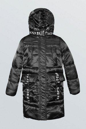 80838/2 (черный) Пальто для девочки