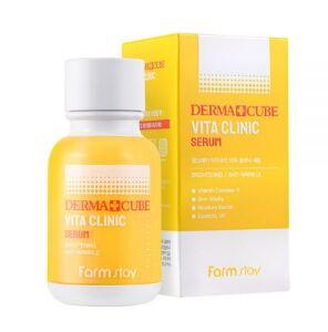 Витаминный серум для молодости и сияния кожи Derma Cube Vita Clinic Serum