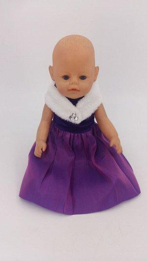 Платье Одежда для беби бона и кукол 40-43 см
