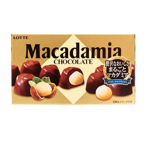 Макадамия орех в шоколаде, Lotte, 67гр. СРОК ГОДНОСТИ ДО 30.06.2021