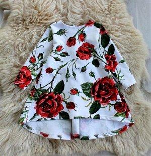 Платье «Сладкая роза»