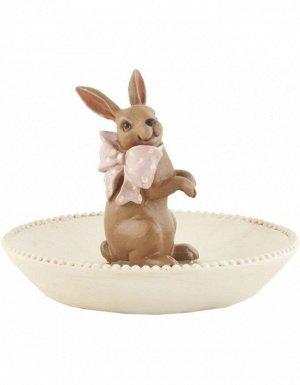 Декор CF 6PR0465 Кролик 13*9 cm