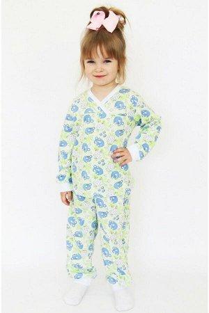 Пижама детская кулирка Д-