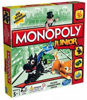 """Настольная игра Hasbro Gaming Монополия Джуниор """"Моя первая монополия"""",8+664"""