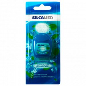 SILCAMED (СИЛКАМЕД) Зубная нить EXTRA FRESH *12/800010