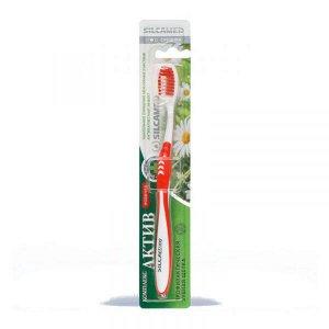 SILCAMED (СИЛКАМЕД) Зубная щетка Актив комплекс средней жесткости *12/625
