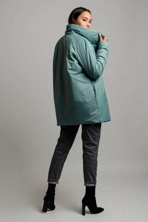 Куртка Сезон: демисезонные. Модель: удлинённая. Цвет: зелёный. Комплектация: куртка. Бренд: DREAMWHITE. Фактура: однотонная. Посадка: прямая. Состав подкладки: полиэстер-100%. Состав верха: полиэстер-