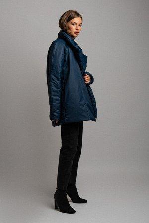 Куртка Сезон: демисезонные. Модель: удлинённая. Цвет: синий. Комплектация: куртка. Бренд: DREAMWHITE. Фактура: однотонная. Посадка: прямая. Состав подкладки: полиэстер-100%. Состав верха: полиэстер-10
