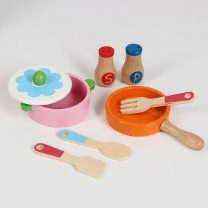 Игровой набор «Люблю готовить», посудка в наборе