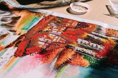 Рисование по номерам.Алмазная живопись.Украшаем дом.Игрушки. — Алмазная мозаика 36*26 — Хобби и творчество
