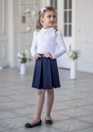 Школьная юбка Лиора, цвет т.синий