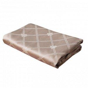"""Damasco rosa"" Простыня на резинке ""Миндаль"" 160х200см, мако-сатин 2199"