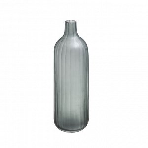 Ваза CH0693 стекло серая