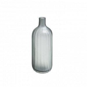 Ваза CH0694 стекло серая