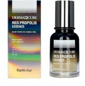 Эссенция для лица с экстрактом прополиса Derma Cube Red Propolis Essence