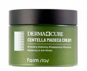 Увлажняющий крем Derma cube centella madeca cream