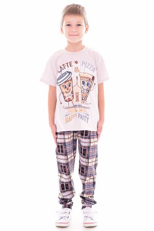 Пижама детская 7-257, Пицца