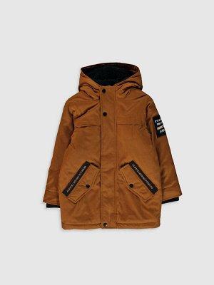 Куртка Узор: Прямой крой Толщина: Толстая Тип товара: Куртка Капюшон: С капюшоном Материал подкладки: Меховая подкладка РАЗМЕР: 10-11 лет, 12-13 лет, 8-9 лет, 13-14 лет, 9-10 лет, 6-7 лет, 7-8 лет ЦВЕ