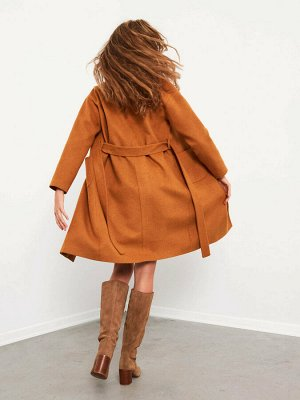 Пальто Узор: Прямой крой Тип товара: Пальто РАЗМЕР: XS, S, L, M ЦВЕТ: Grey Melange, Camel СОСТАВ: Основной материал: %3 Хлопок %12 Полиэстер %3 Полиамид %1 Шерсть %78 Акрил %3 Вискон - вискоза