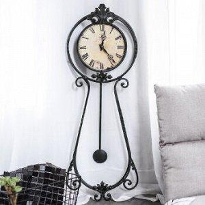 Часы настенные DE0230 Pendulum 32*6*91,5cm