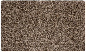 Коврик грязезащитный Dover WV 80 0,5*0,8 без канта коричневый