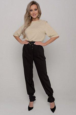 Брюки Длина брюк измеряется по боковому шву от линии верха до низа изделия  и для всех предлагаемых размеров (42 - 52) составляет 110 см. Ткань: плательно-костюмного ассортимента.  Тонкая, пластичная,