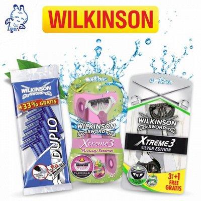 Доставим за 2 дня. Всё для бритья и эпиляции в одной покупке — Wilkinson - только на 100сп!  — Бритье и эпиляция