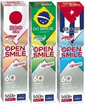 Зубная паста TOLK Open Smile eXfresh 115 гр