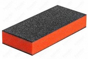 Баф для ногтей зауженный оранжевый