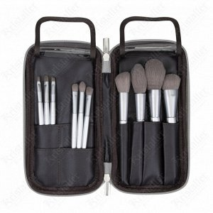 Набор кистей для макияжа в футляре 10 шт.