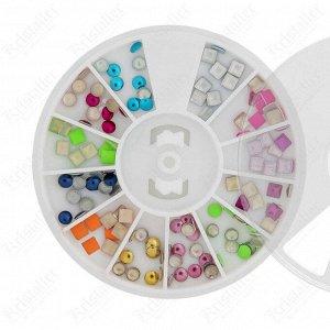 Набор металлического декора для ногтей №7