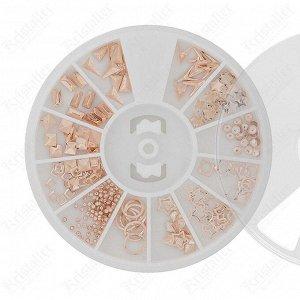 Набор металлического декора для ногтей №15