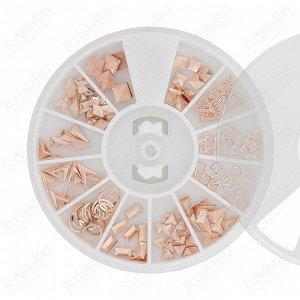 Набор металлического декора для маникюра №13