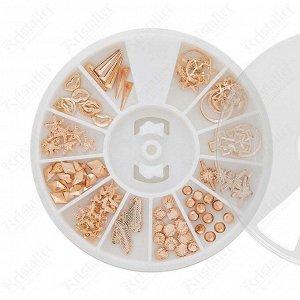 Набор металлического декора для маникюра №12