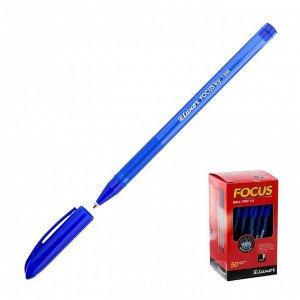 """Ручка шариковая Luxor """"Focus Icy"""" 1,0 мм, синий стержень"""