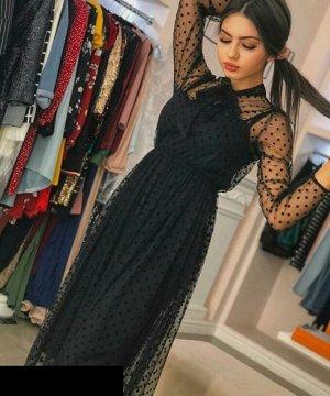 Платье Люксовые нежнейшие платья в размер идут