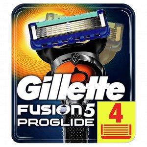 FUSION ProGlide Сменные кассеты для бритья 4шт