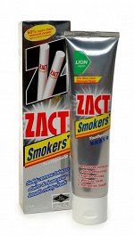 "LION ""Zact"" Зубная паста 150гр для курящих (Smokers) Таиланд"