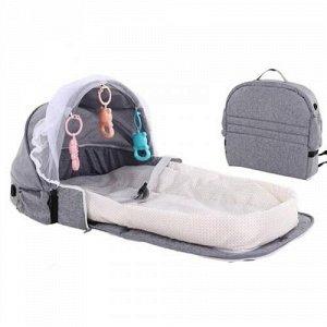Мобильная детская кроватка-сумка для путешествий