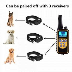 Электрический ошейник для собак с пультом оптом
