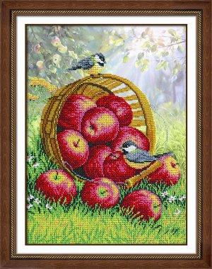 Набор (вышивка бисером) Наливные яблочки