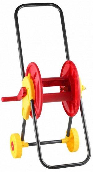 Катушка GRINDA для шланга на колесах