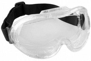 ЗУБР ПРОФИ 5 антизапотевающие очки защитные  с непрямой вентиляцией