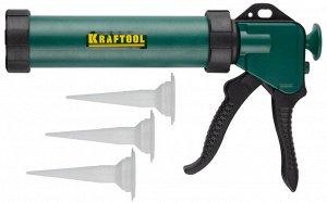 KRAFTOOL универсальный закрытый пистолет для герметика Professional