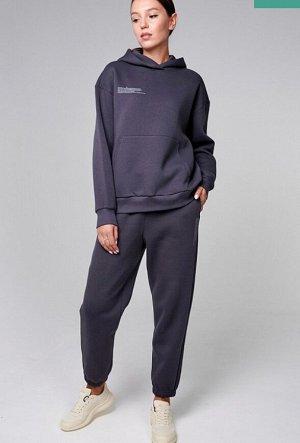 Трикотажные брюки с начесом