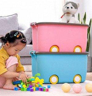 Корзина малая, для хранения детских игрушек Х-8145_М