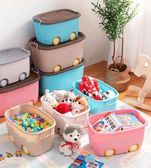 Корзина большая, для хранения детских игрушек Х-8145_Б