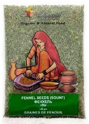 Фенхель семена Fennel Seeds (Sounf) Bharat Bazaar 100 гр.