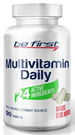 Витаминно-минеральный комплекс Multivitamin Daily Be First 90 таб.